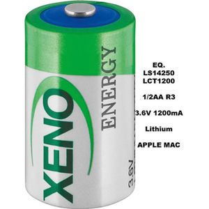 PILES Pile LITHIUM 3.6V Xeno XL-050F 1/2AA LS14250