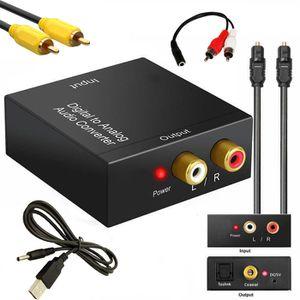 ADAPTATEUR AUDIO-VIDÉO  Juce® Adaptateur de convertisseur Audio R/L Avec C