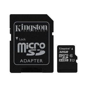 CARTE MÉMOIRE Carte Micro SD 32 Go Carte mémoire TF Micro-SD Kin