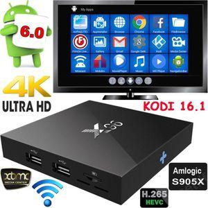 BOX MULTIMEDIA Amlogic S905X Quad Core Android 6.0 TV Boîte 2G /