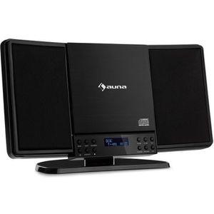 RADIO CD CASSETTE auna V14-DAB Chaîne stéréo verticale compacte avec