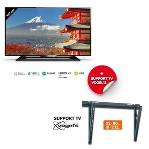 support mural pour tv philips 107 cm. Black Bedroom Furniture Sets. Home Design Ideas