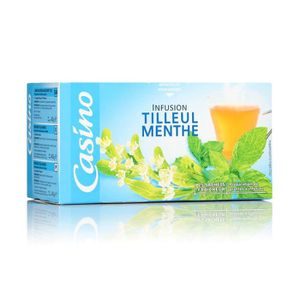 INFUSION Infusion tilleul menthe