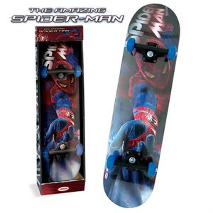 SKATEBOARD - LONGBOARD SPIDERMAN Skateboard enfant 31""