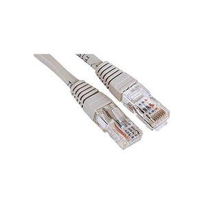 CÂBLE RÉSEAU  Câble réseau, RJ45 mâle - RJ45 mâle, Cat. 5e, UTP,