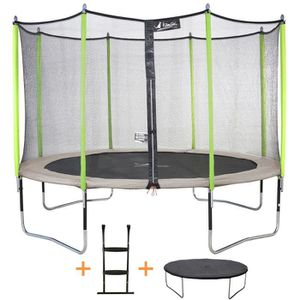 trampoline achat vente pas cher soldes cdiscount. Black Bedroom Furniture Sets. Home Design Ideas