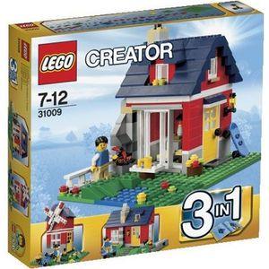 ASSEMBLAGE CONSTRUCTION LEGO Creator 31009 La petite maison