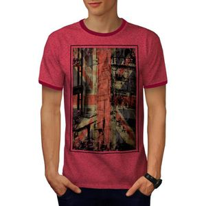 T-SHIRT Londres Ville Angleterre Capitale Royaume-Uni Men