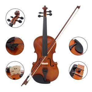 Brun 1-2 1-4 B Blesiya /Épauli/ère de Violon Support d/Épaule Kit Porte Violon Accessoire Violoniste