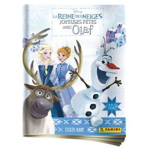 JEU DE STICKERS LA REINE DES NEIGES Album Olaf