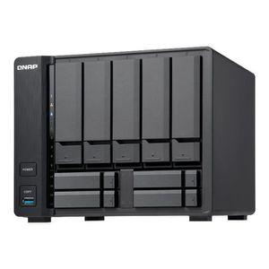 SERVEUR STOCKAGE - NAS  QNAP TS-932X Serveur NAS 9 Baies SATA 6Gb-s RAID 0