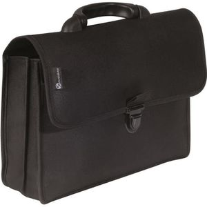 ATTACHÉ-CASE SAVEBAG Serviette porte-document - 38 cm - Noir