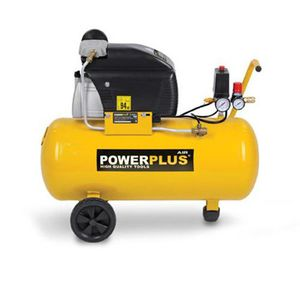 COMPRESSEUR POWERPLUS Compresseur d'air 50 L  8 bar  2 CV