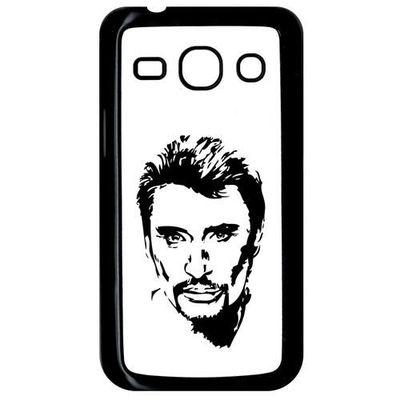 Coque Pour Smartphone Plastique Noir Samsung Galaxy Core Plus