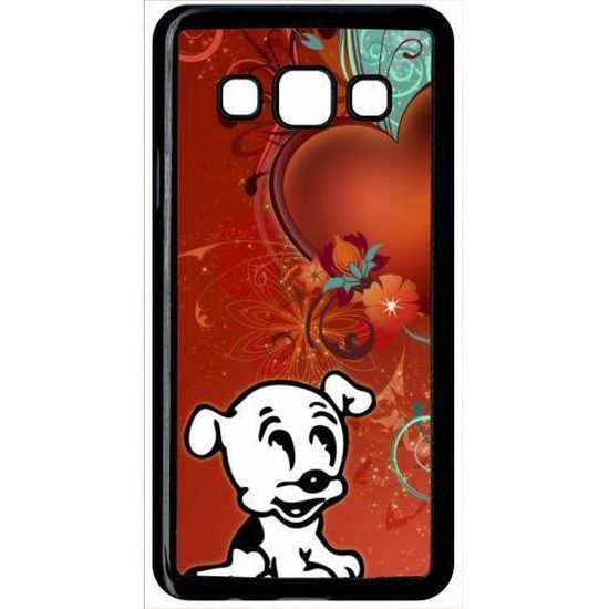 Coque samsung galaxy a3 chien love