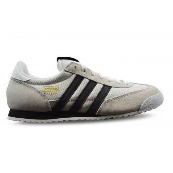 Adidas dragon blanche blanc - Cdiscount Chaussures