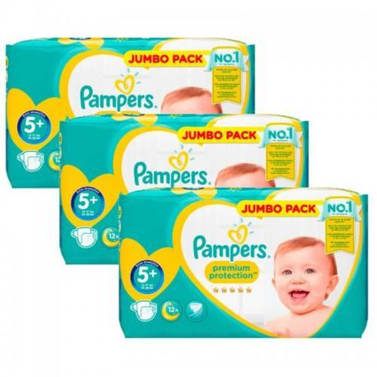100 COUCHES PAMPERS NEW BABY DRY taille 2