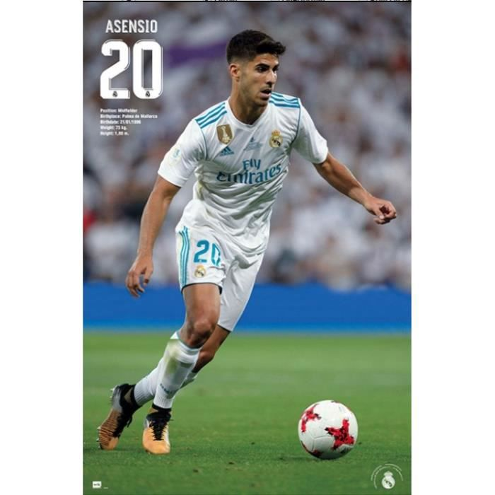 Poster Football - Real Madrid d52c9f4bc7
