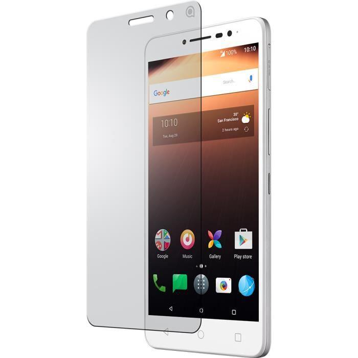 Protège-écran en verre trempé Alcatel pour A3 XL 9008