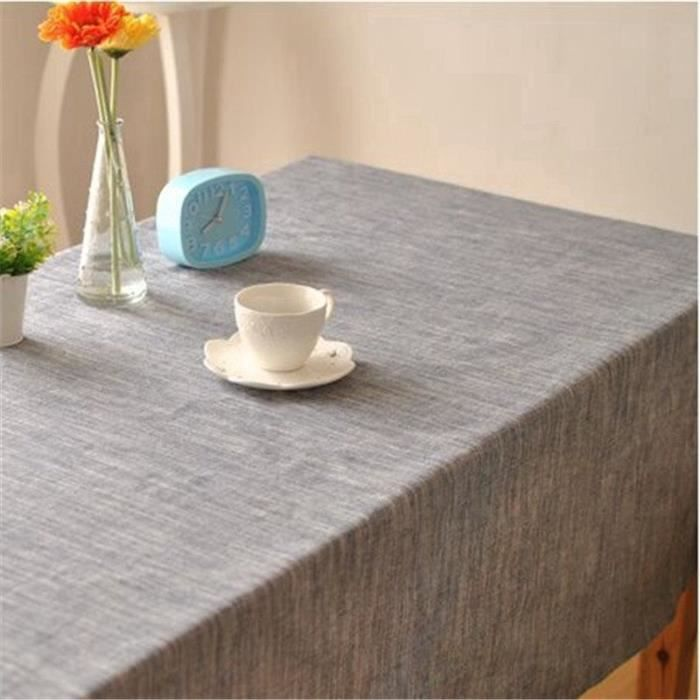 Solid color Japanese-style striped with simple theatrical drape factory outlets table cloth fabrics 140x220 2