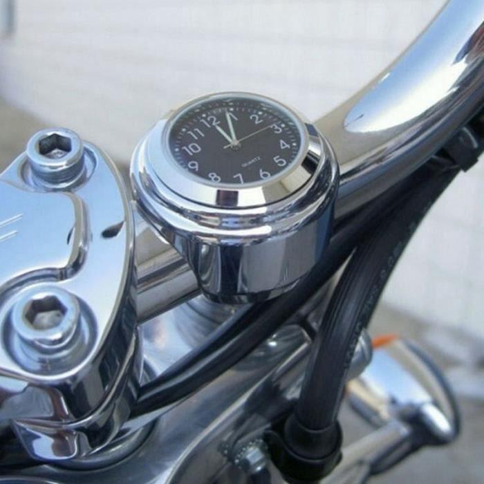 Mini Moto Horloge Montre Moto Voiture Horloge Numérique Jusqu'à - Noir