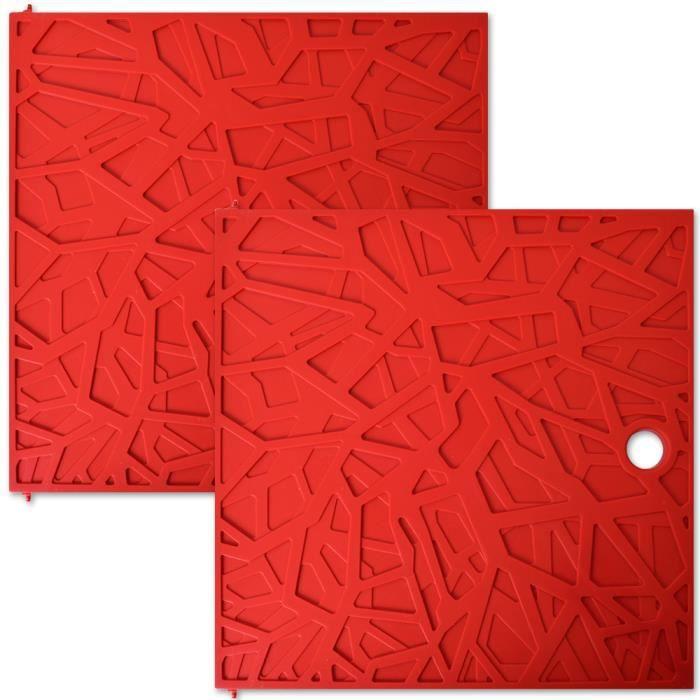 Leroy Merlin Multikaz Design Meuble étagère Cube étagère insert Porte Rabat Porte Insert 32x32cm Rouge