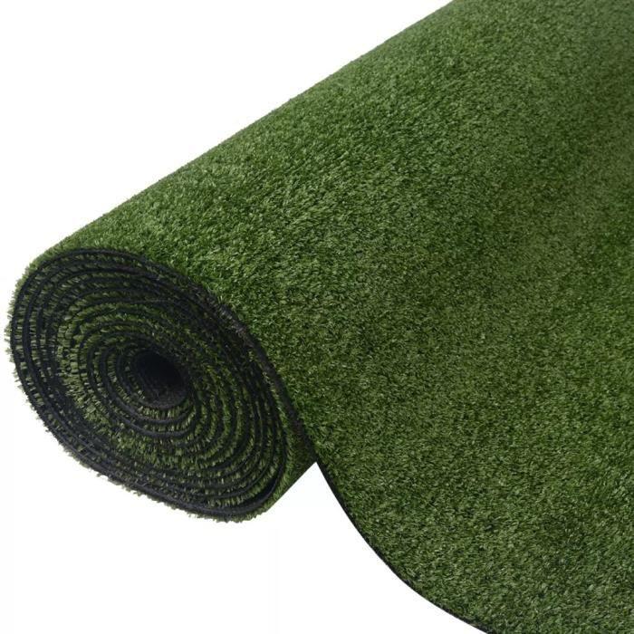 Gazon synthétique artificiel pelouse artificielle pour balcon,terrasse - 1 x 5 m - 7 - 9 mm Vert