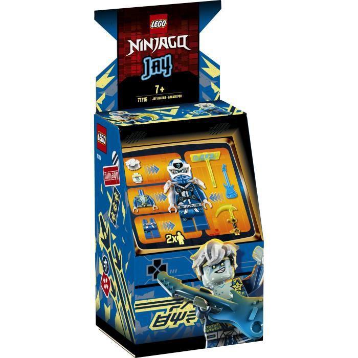 LEGO® NINJAGO® 71715 Avatar Jay - Capsule Arcade