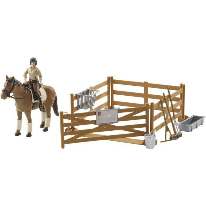 Coffret : Personnage avec cheval et accessoires b…