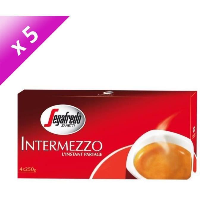 [LOT DE 5] INTERMEZZO Moulu - 4 x 250 G
