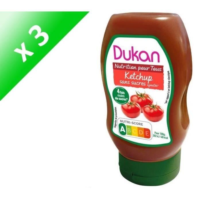 [LOT DE 3] Ketchup 320g