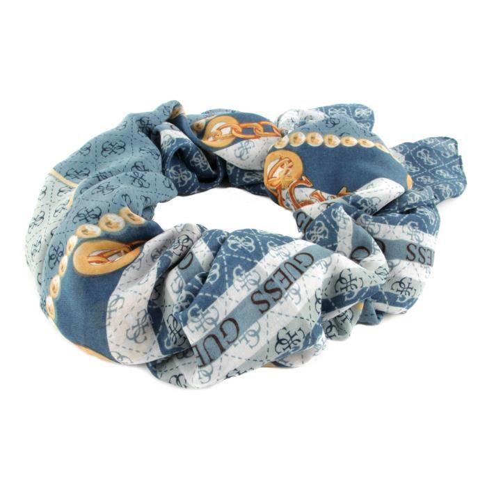 GUESS Washington Printed Kefiah Blue Multi [136141] - écharpe echarpe