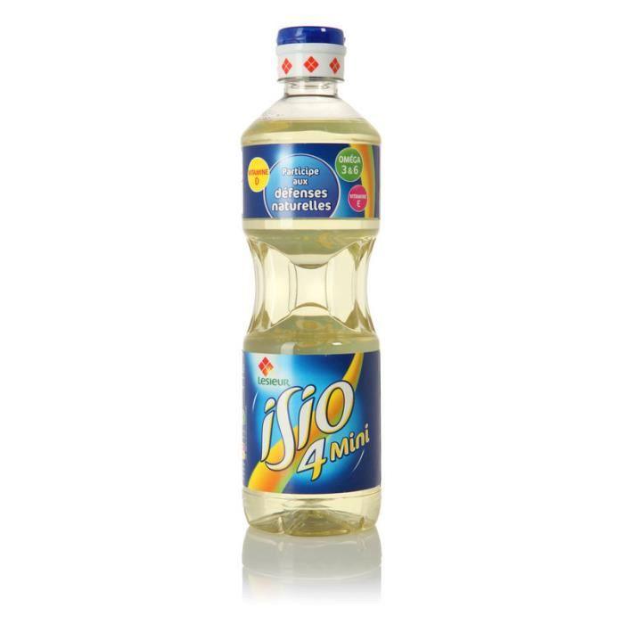 Mélanges d'huiles végétales 50cl Isio 4