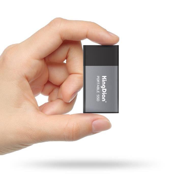 Kingdian P10 Portable Ssd Usb 3.0 vers Adaptateur Type C Disque Ssd externe pour ordinateur de bureau pour ordinateur po 3