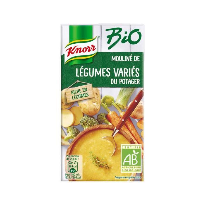 Soupe de légumes variés 500ml Knorr