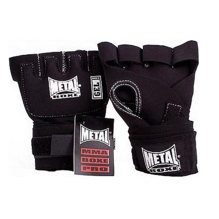 sous gant gel choc métal boxe