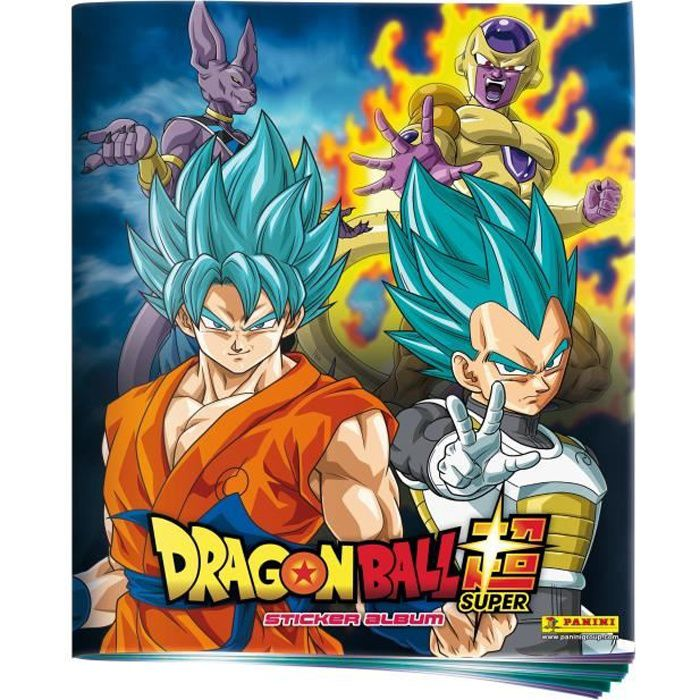 PANINI DRAGON BALL SUPER Album pour Stickers à Collectionner