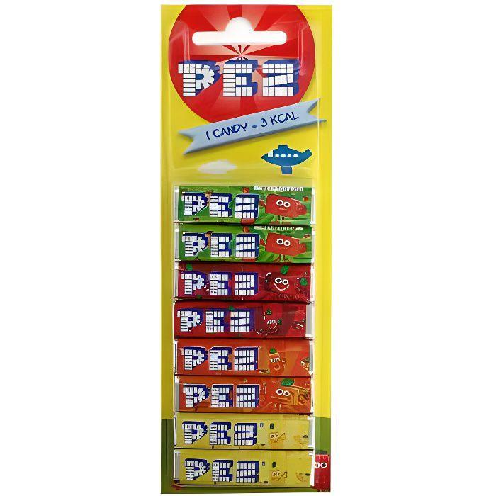 Recharges PEZ [Lot de 8 pices]