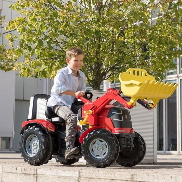 ROLLY TOYS X Tracteur Enfant Premium + Pelle Avant