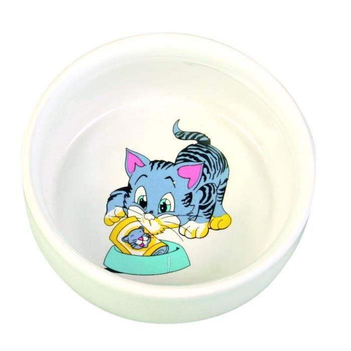 TRIXIE Ecuelle ceramique pour chat