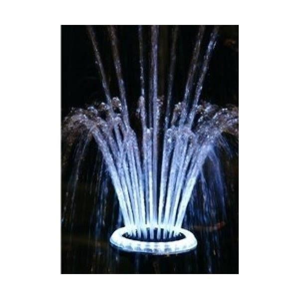 Ubbink Eclairage LED Jet d'eau Volcano 1/2 - pour bassin de jardin