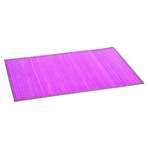 tapis color en bambou 60 x 90 cm fuchsia achat. Black Bedroom Furniture Sets. Home Design Ideas