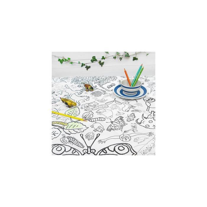 JEU DE MODE - COUTURE - STYLISME Kit de coloriage Colour-in Countryside Tablecloth