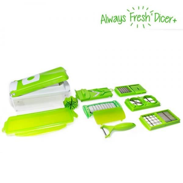 Alway fresh nicer dicer easy coupe legumes achat vente ensemble de d coupe alway fresh nicer - Nicer dicer coupe legumes ...