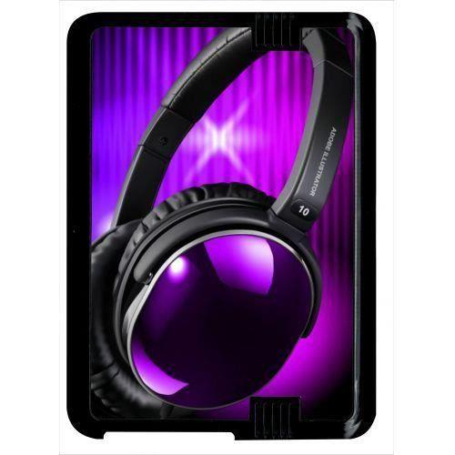 mieux choisir concepteur neuf et d'occasion divers design Coque amazon kindle fire 7 hd casque audio violet fond noir