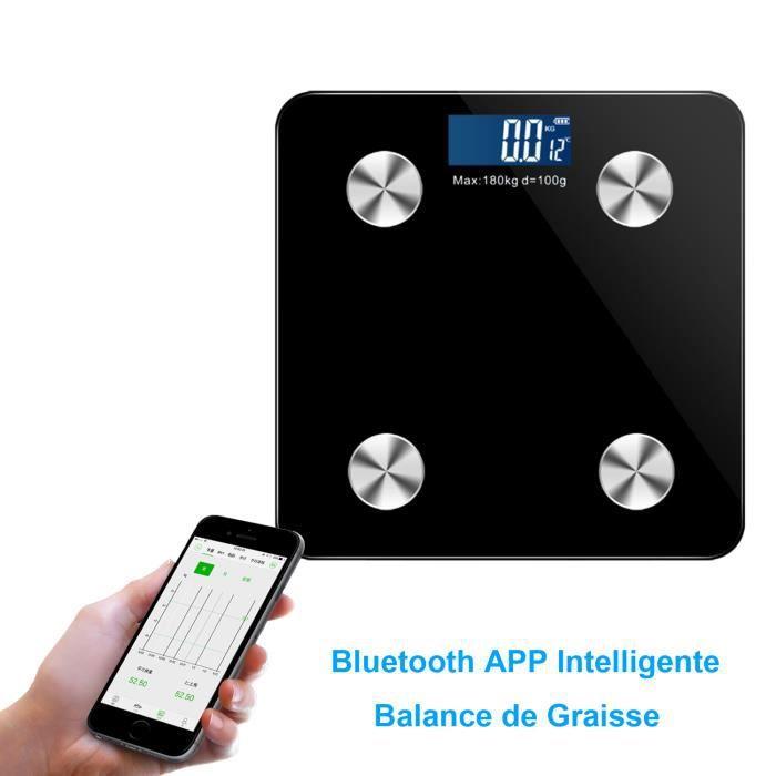 PÈSE-PERSONNE Pèse Personne Impédancemètre, Balance Bluetooth av