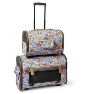 sac de transport double sur roulettes gufi pour ch achat vente panier de transport sac de. Black Bedroom Furniture Sets. Home Design Ideas