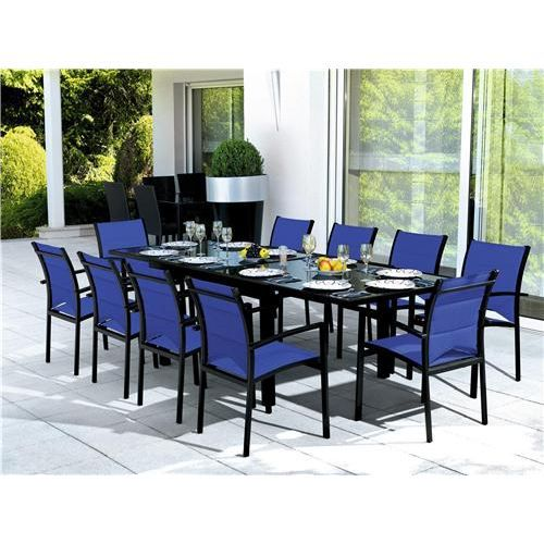 table et chaises de jardin ens modulo 10 blatt achat. Black Bedroom Furniture Sets. Home Design Ideas