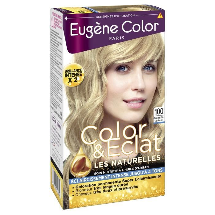 Eugene color perma cr me colorante nutriprotectrice n 100 blond tr s tr s clair naturel achat - Pure 100 nettoyant naturel avis ...