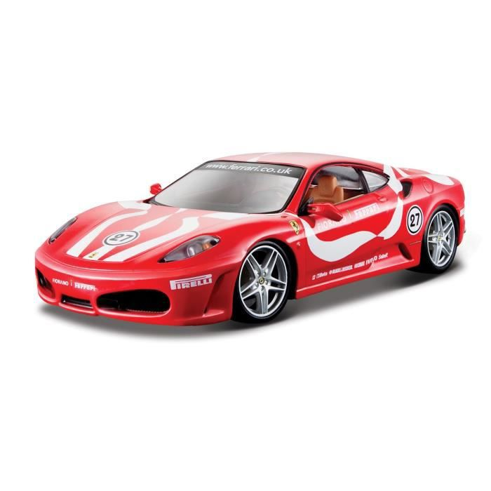 burago voiture ferrari collection f430 fiorano chelle 1 24 achat vente voiture camion. Black Bedroom Furniture Sets. Home Design Ideas